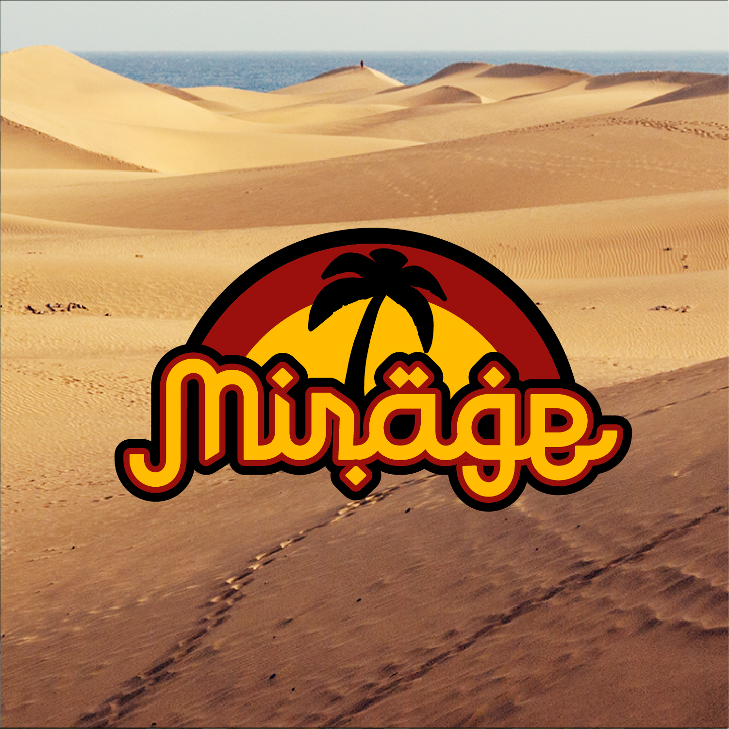 Mirage | Fictional logo design