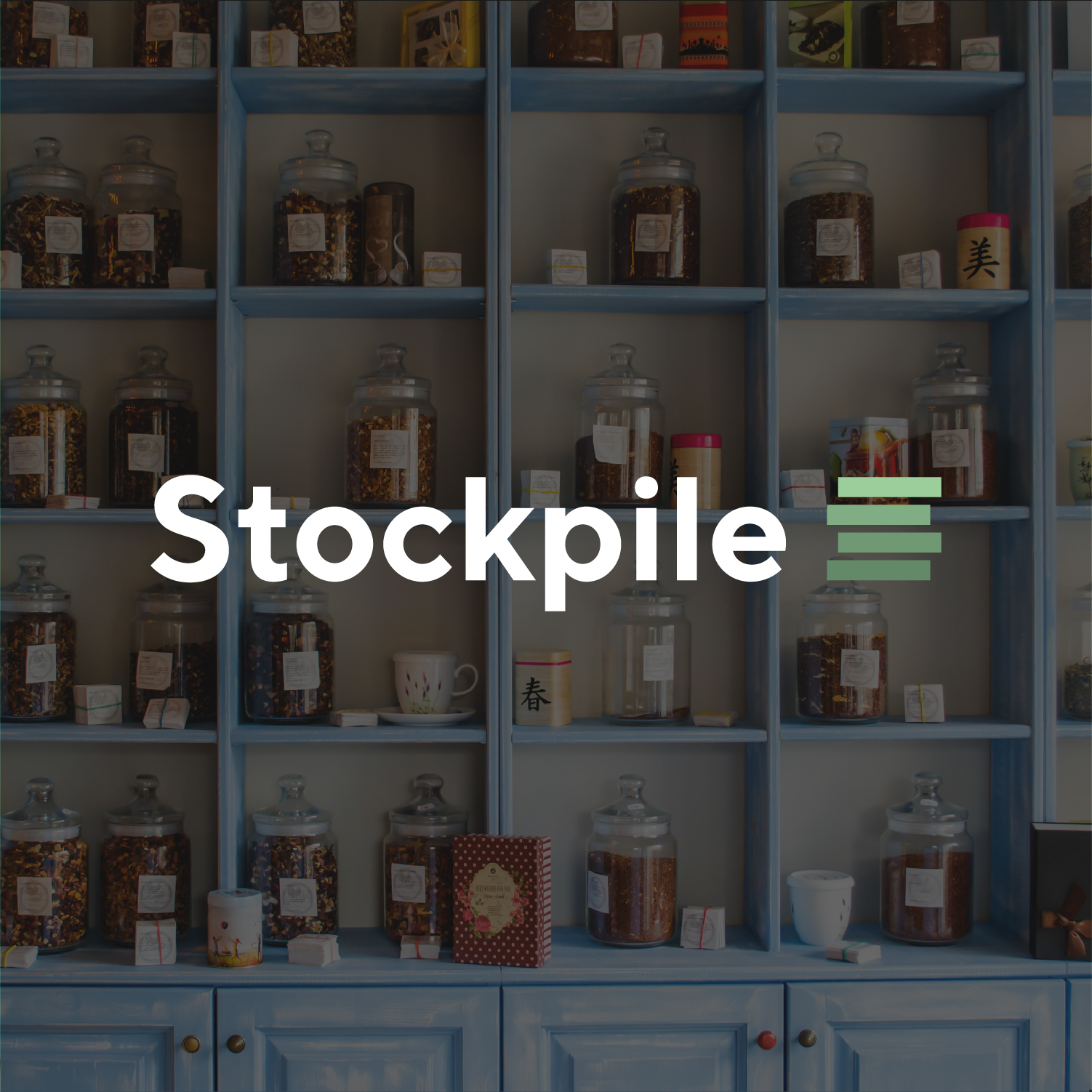 Stockpile | Fictional Logo Design