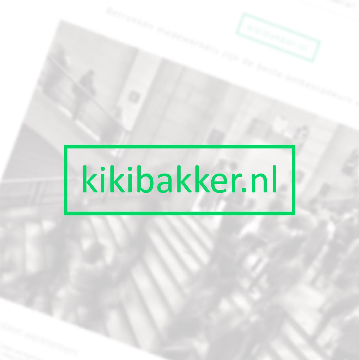 Kiki Bakker | Website for an Employee Engager